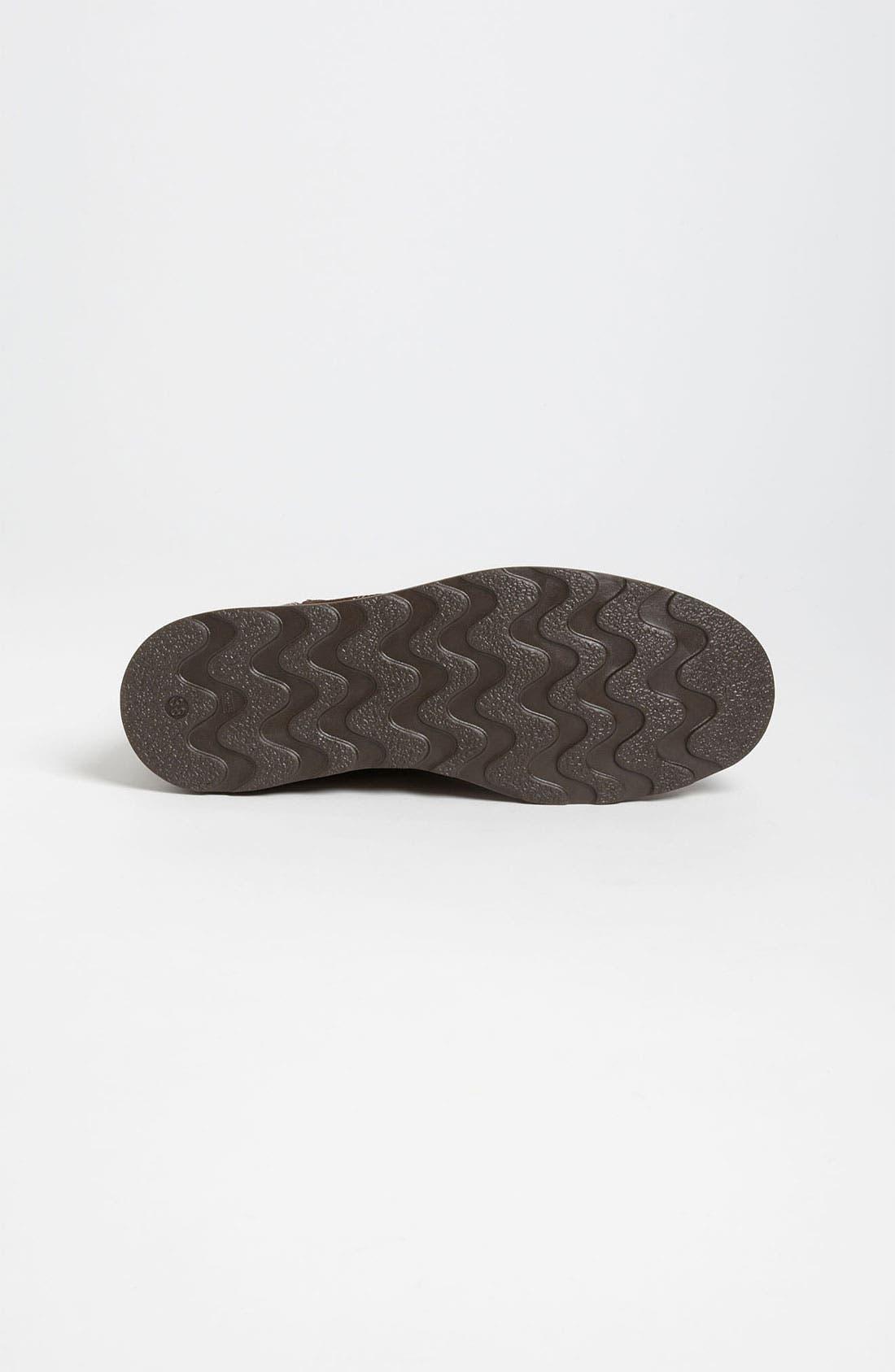 Alternate Image 4  - Armani Junior Leather Boot (Toddler, Little Kid & Big Kid)