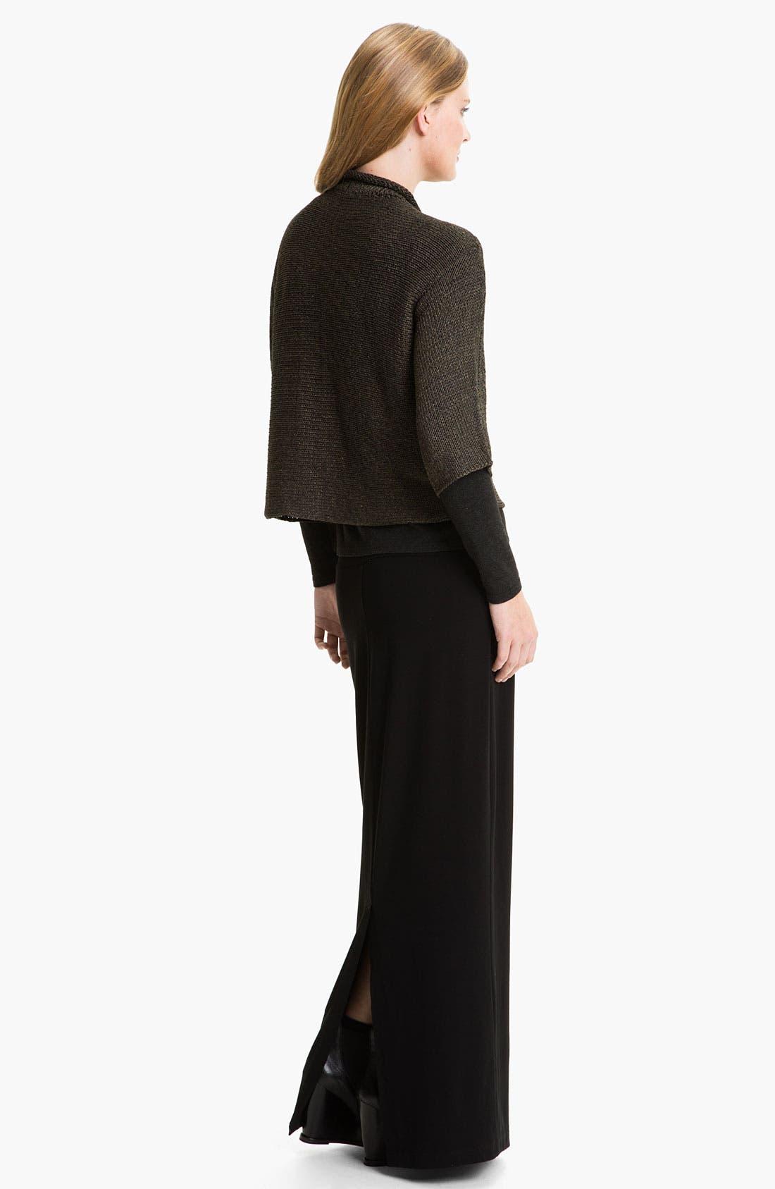 Alternate Image 5  - Eileen Fisher Open Front Cardigan