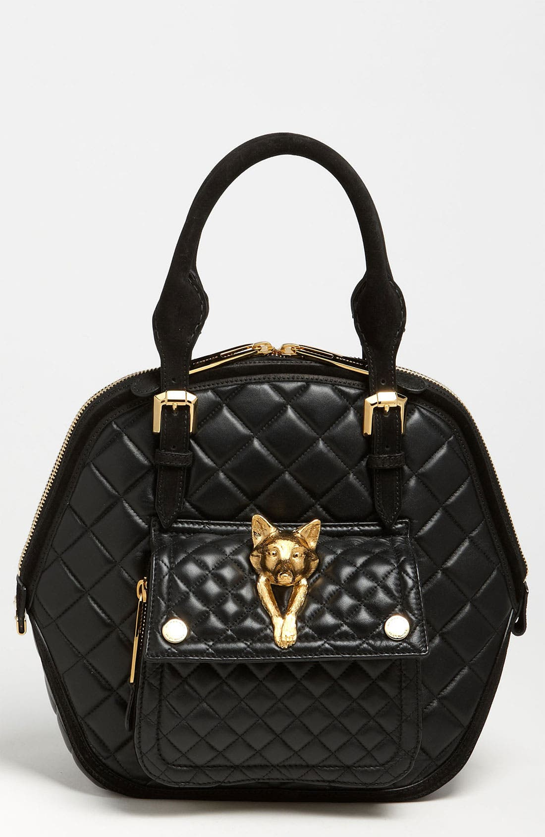 Main Image - Burberry Prorsum Quilted Leather Satchel