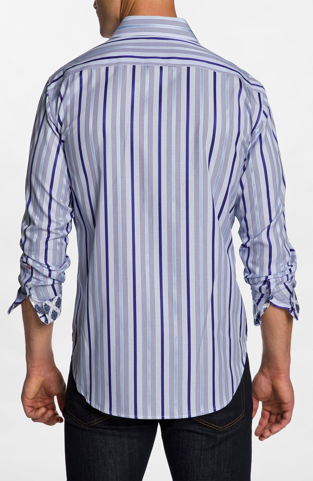 Alternate Image 3  - Robert Graham 'Buckingham' Sport Shirt