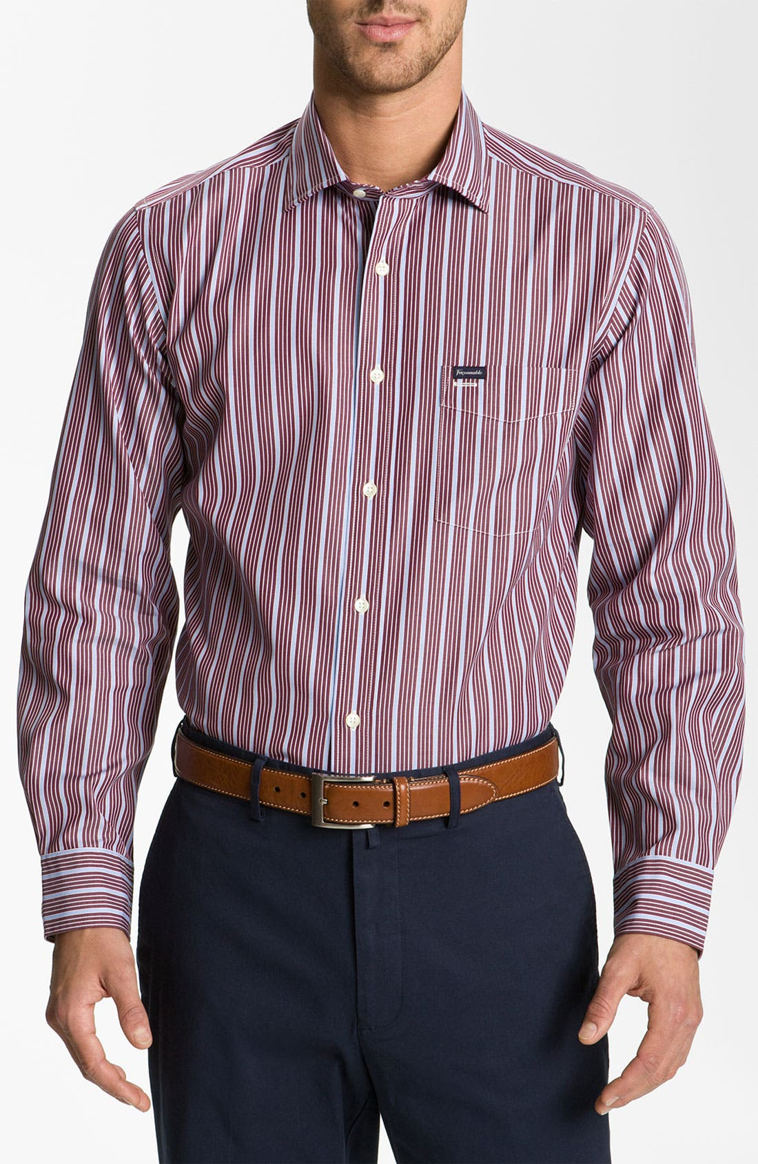 Main Image - Façonnable Club Fit Sport Shirt