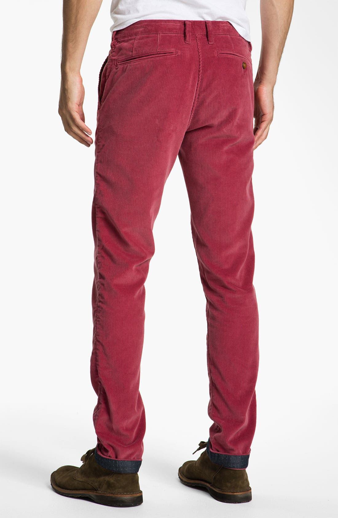 Alternate Image 2  - Ted Baker London 'Pitatro' Slim Fit Corduroy Pants