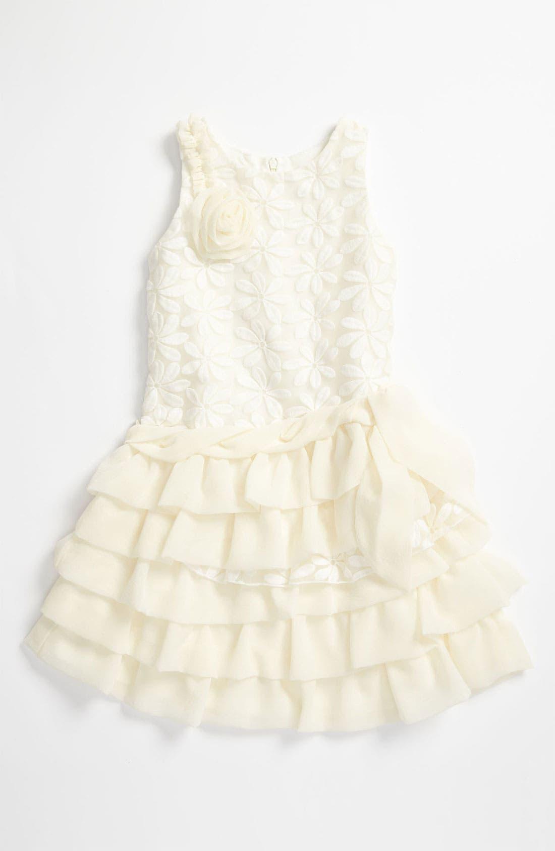 Alternate Image 1 Selected - Isobella & Chloe 'Garden Party' Drop Waist Dress (Little Girls & Big Girls)