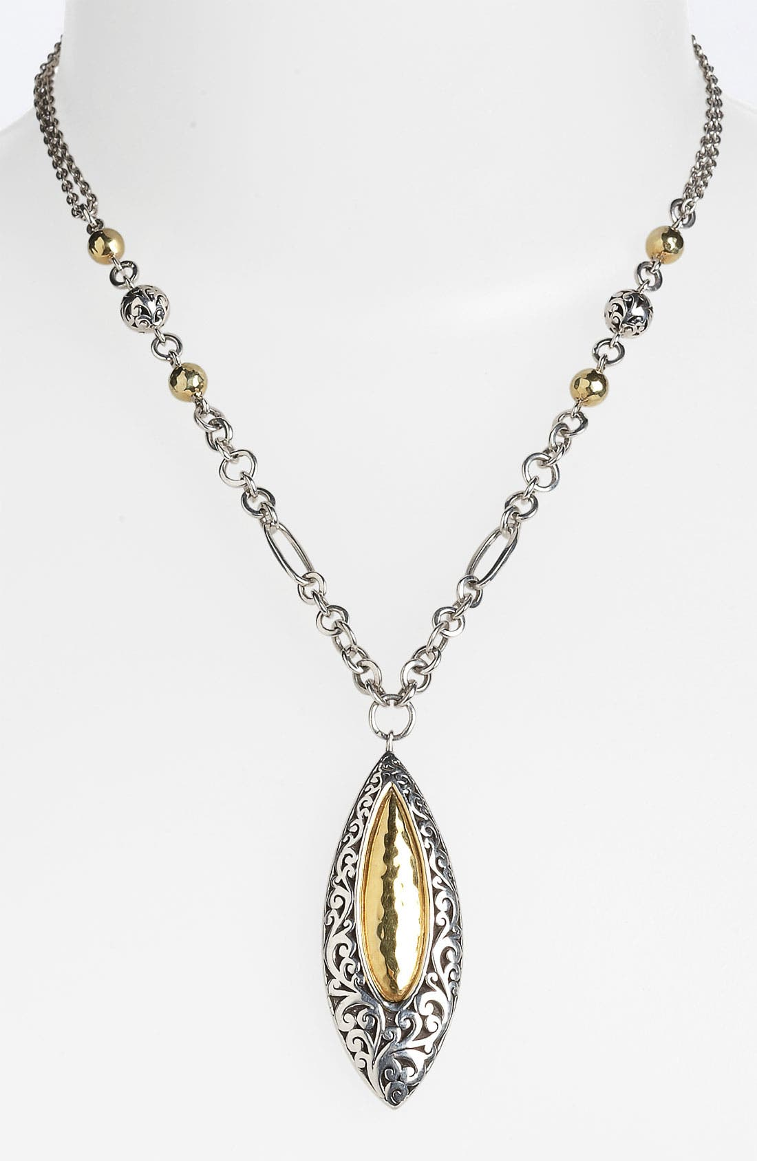 Alternate Image 1 Selected - Lois Hill 'Marquise' Statement Pendant Necklace