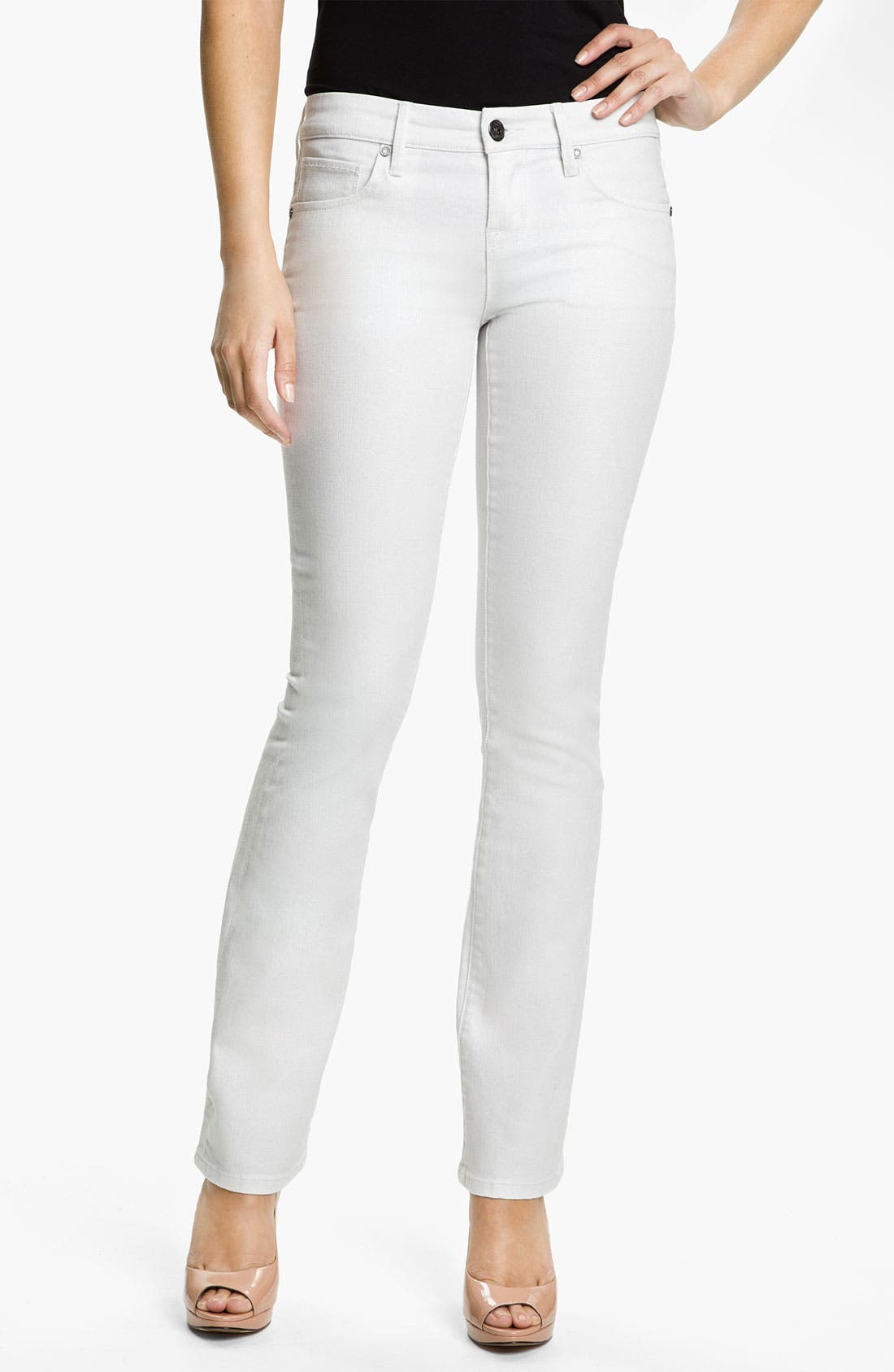 Alternate Image 1 Selected - Isaac Mizrahi Jeans 'Skylar' Slim Bootcut Jeans
