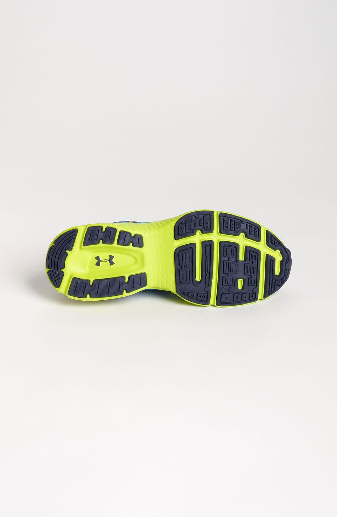 Alternate Image 4  - Under Armour 'Micro G®' Sneaker (Big Kid)