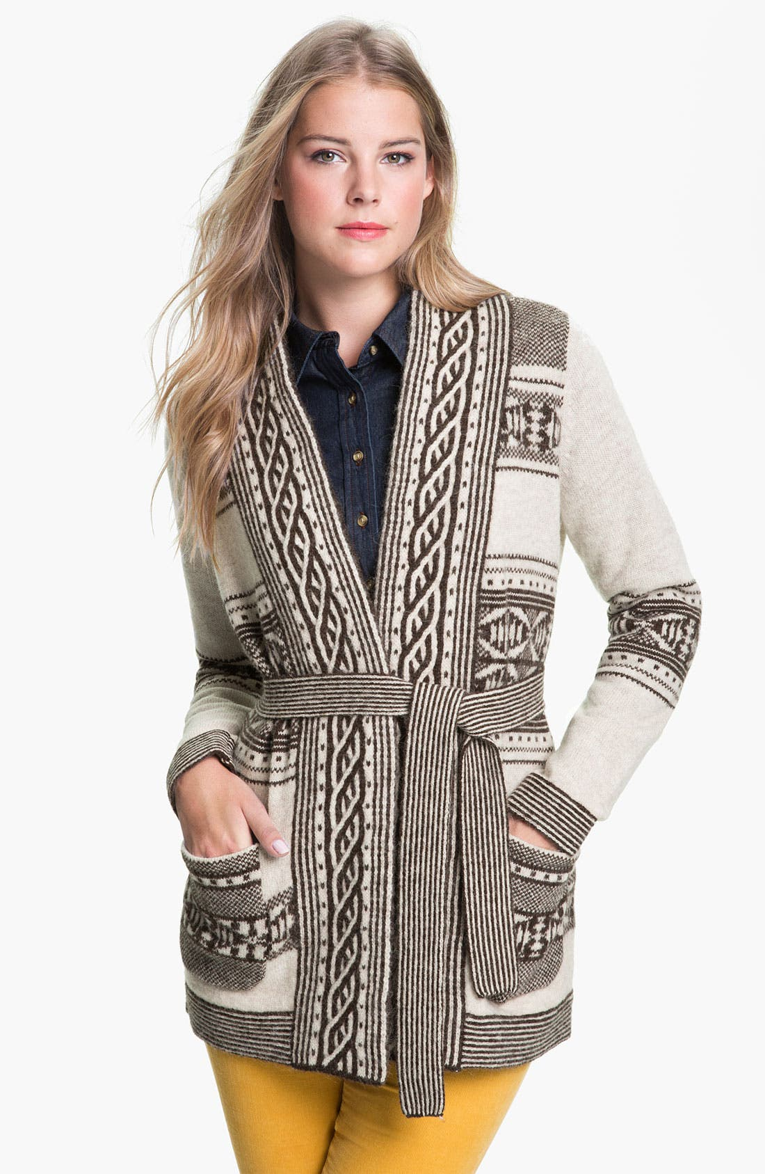 Alternate Image 1 Selected - Pendleton 'Discovery Stripe' Cardigan (Online Exclusive)