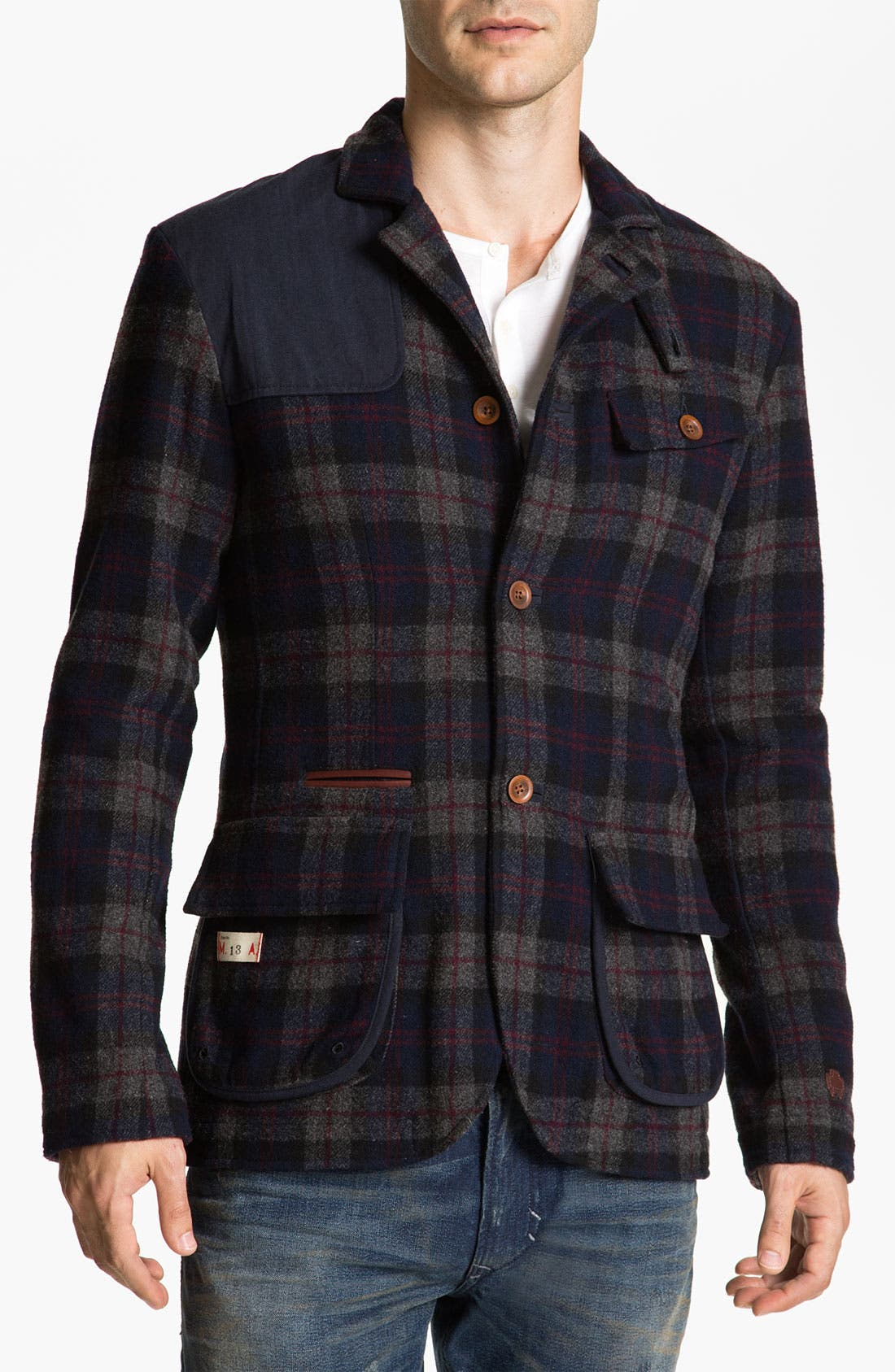 Alternate Image 1 Selected - Marshall Artist Tailored Golf Three-Button Blazer