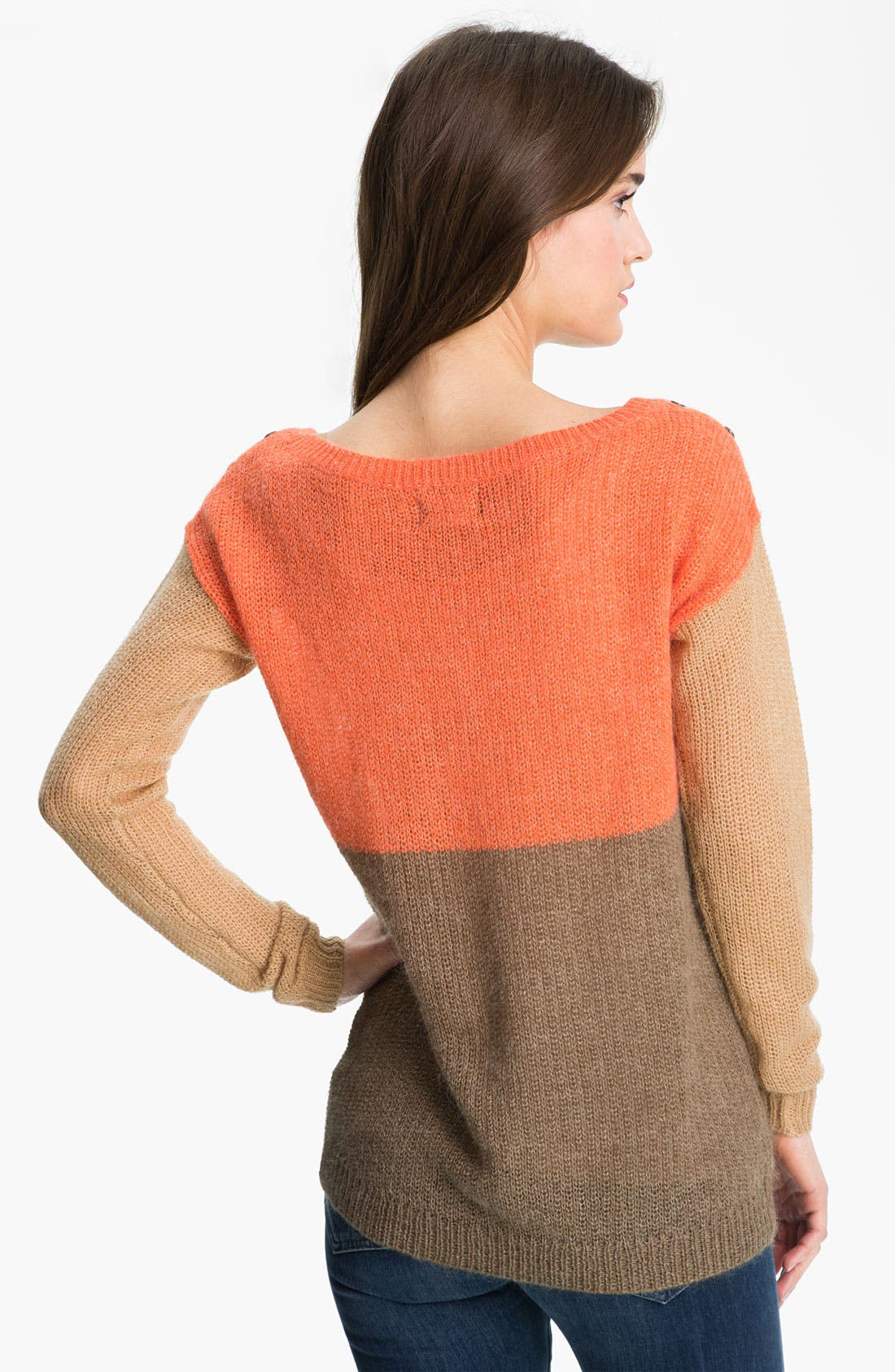 Alternate Image 2  - Splendid Colorblock Sweater