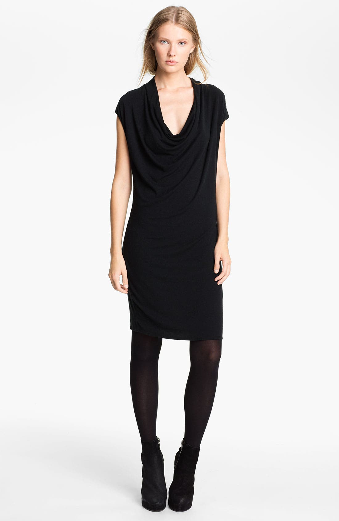 Main Image - HELMUT Helmut Lang 'Nova' Cowl Neck Jersey Dress