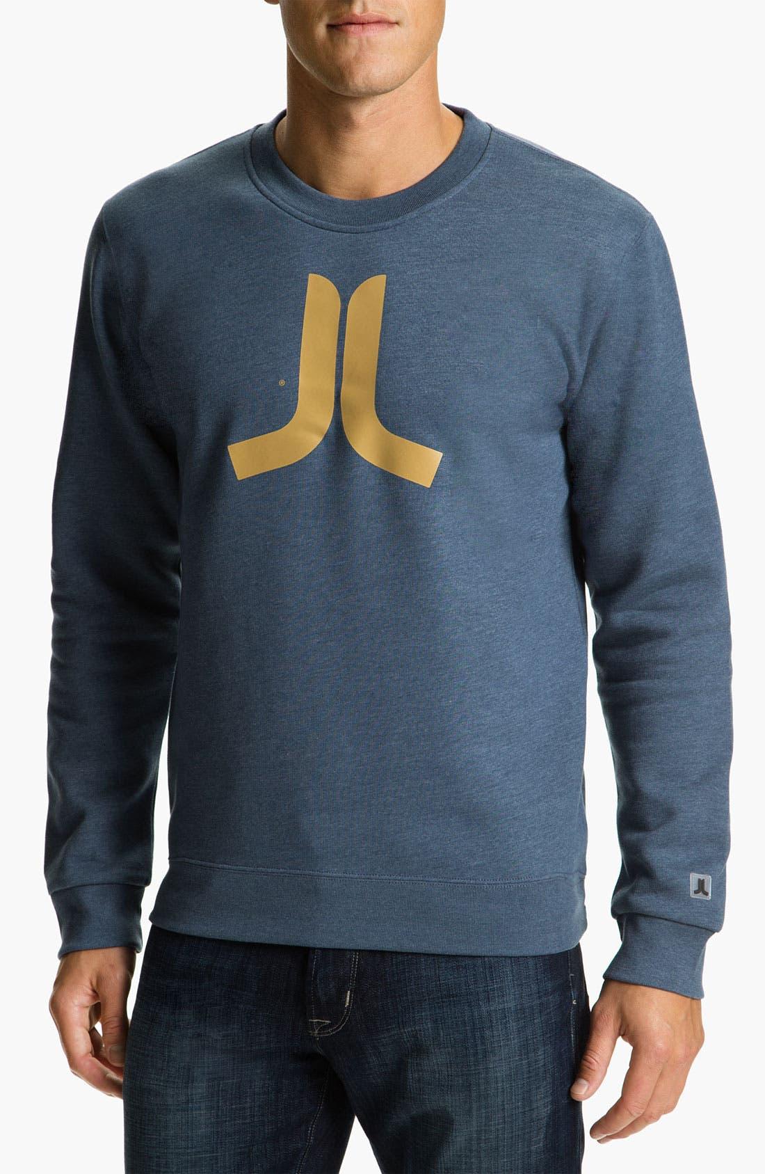 Alternate Image 1 Selected - WeSC 'Icon' Crewneck Sweatshirt