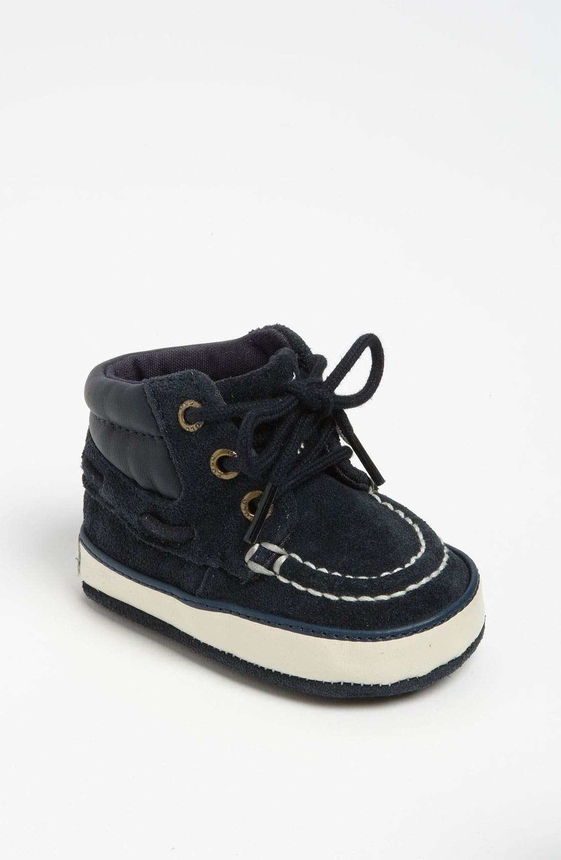 Alternate Image 1 Selected - Ralph Lauren Layette 'Sanders' Crib Shoe (Baby)