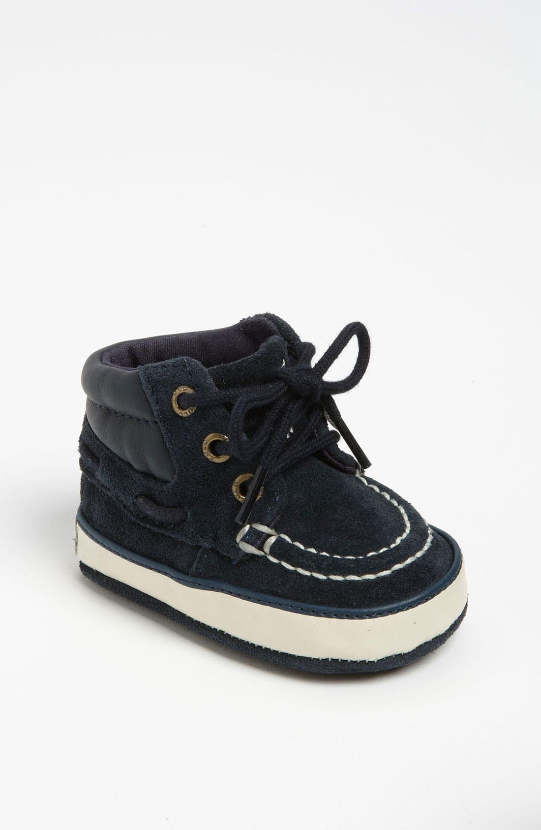 Main Image - Ralph Lauren Layette 'Sanders' Crib Shoe (Baby)