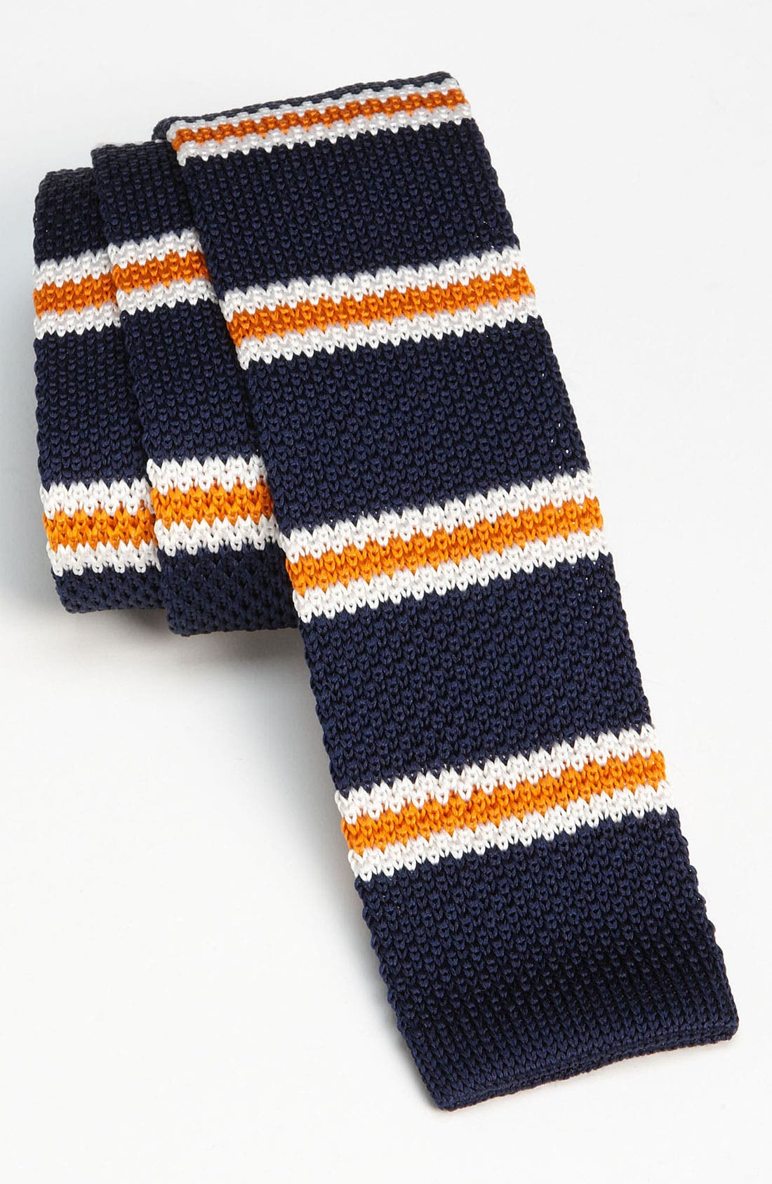 Alternate Image 2  - The Tie Bar Knit 'Country Stripe' Knit Tie