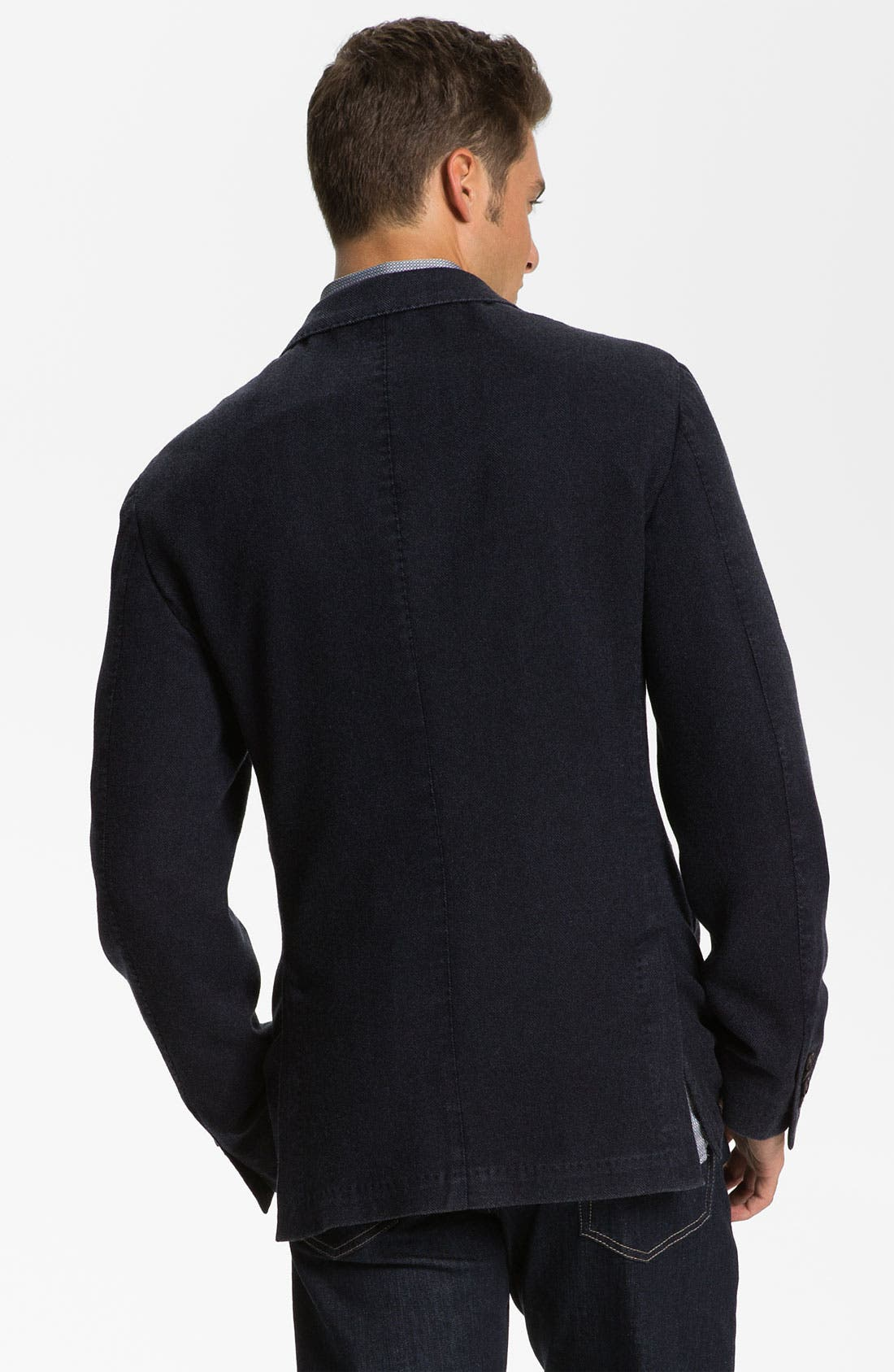 Alternate Image 2  - Canali Wool & Cashmere Sportcoat