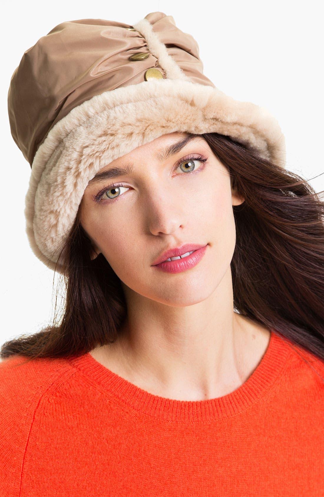 Alternate Image 1 Selected - UGG® Australia 'Fontanne' Bucket Hat