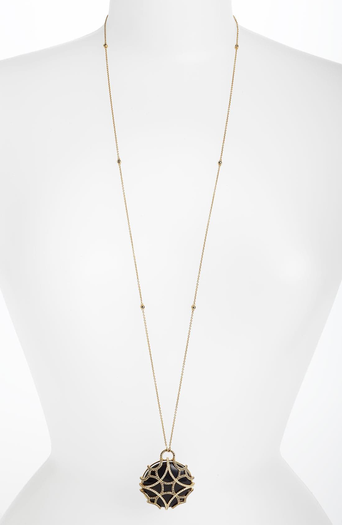 Alternate Image 2  - Judith Jack 'Matrix' Long Convertible Pendant Necklace