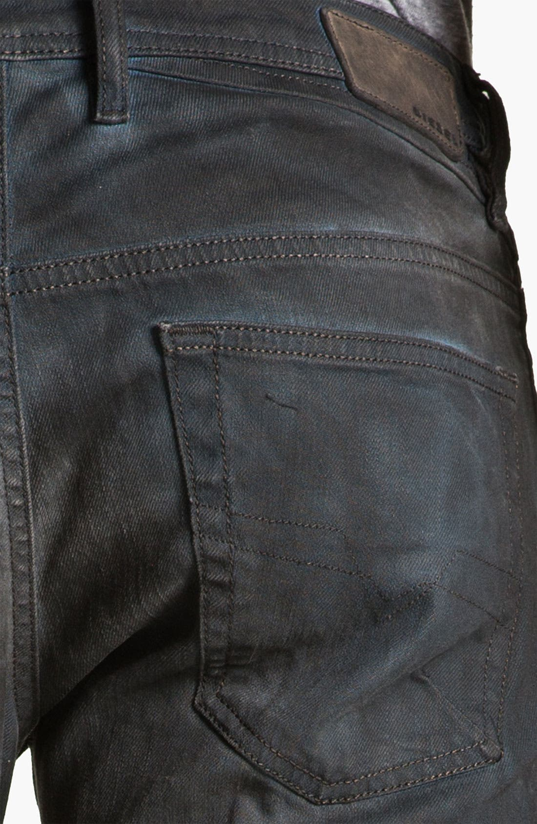 Alternate Image 4  - DIESEL® 'Shioner' Slim Straight Leg Jeans (0886A)