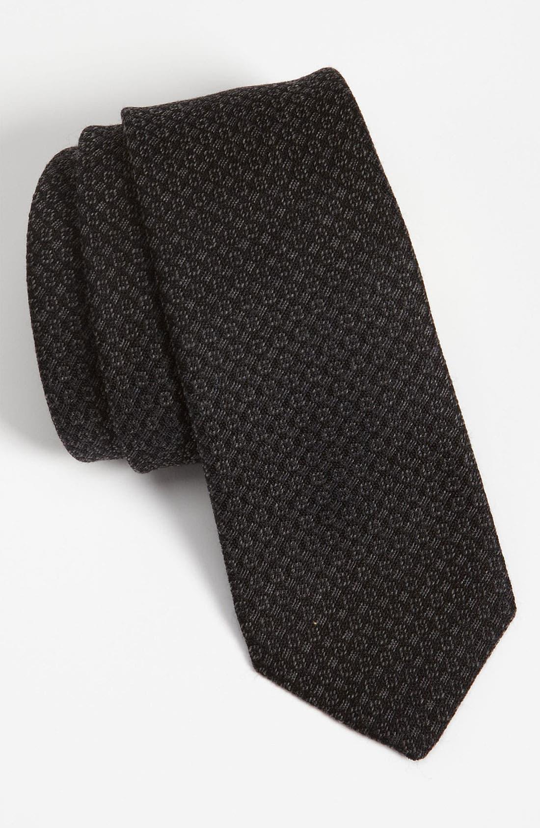 Alternate Image 1 Selected - Burberry London Wool Blend Tie