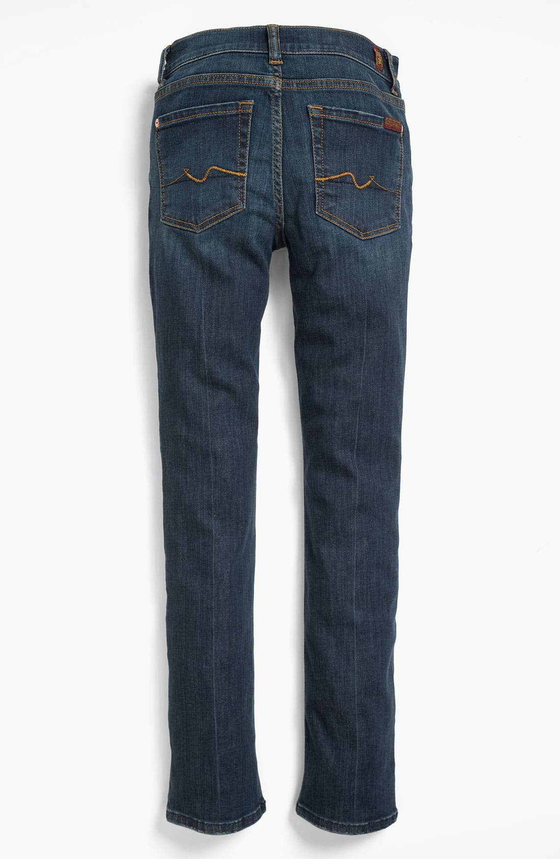 Alternate Image 1 Selected - 7 For All Mankind® Skinny Jeans (Big Girls)