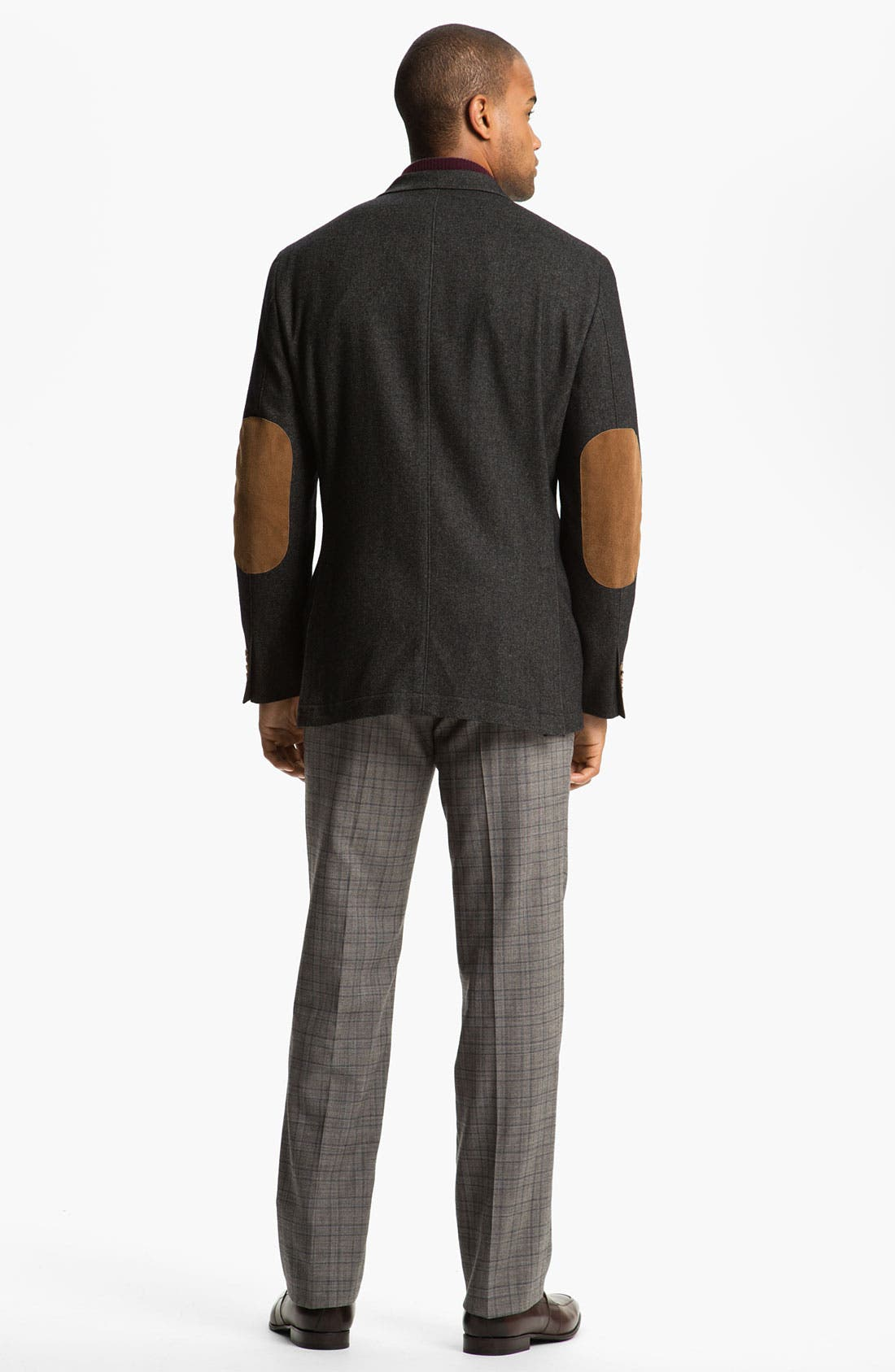 Alternate Image 5  - Peter Millar Flat Front Wool Trousers