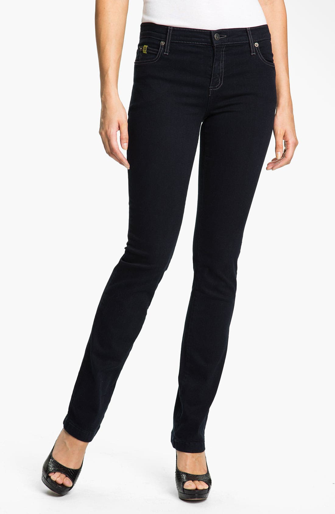 Main Image - Yoga Jeans by Second Denim Straight Leg Jeans