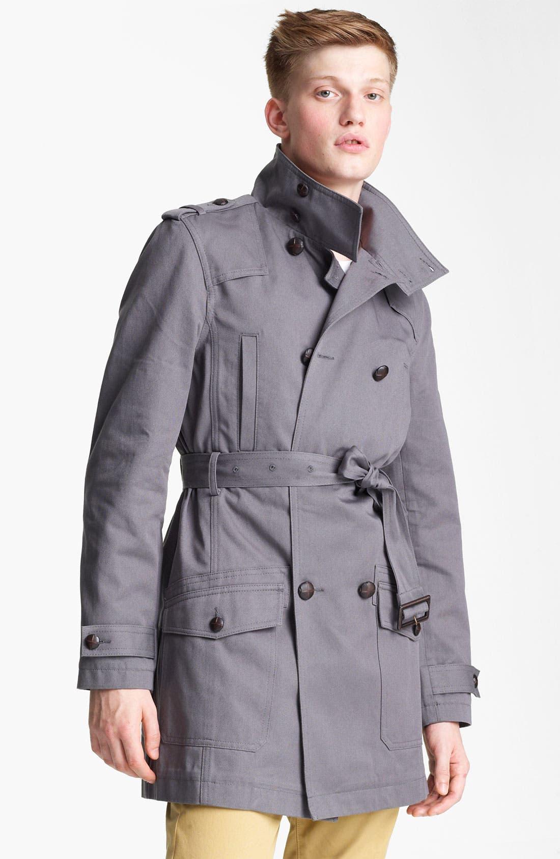 Alternate Image 1 Selected - Topman 'Kennington' Full Length Jacket