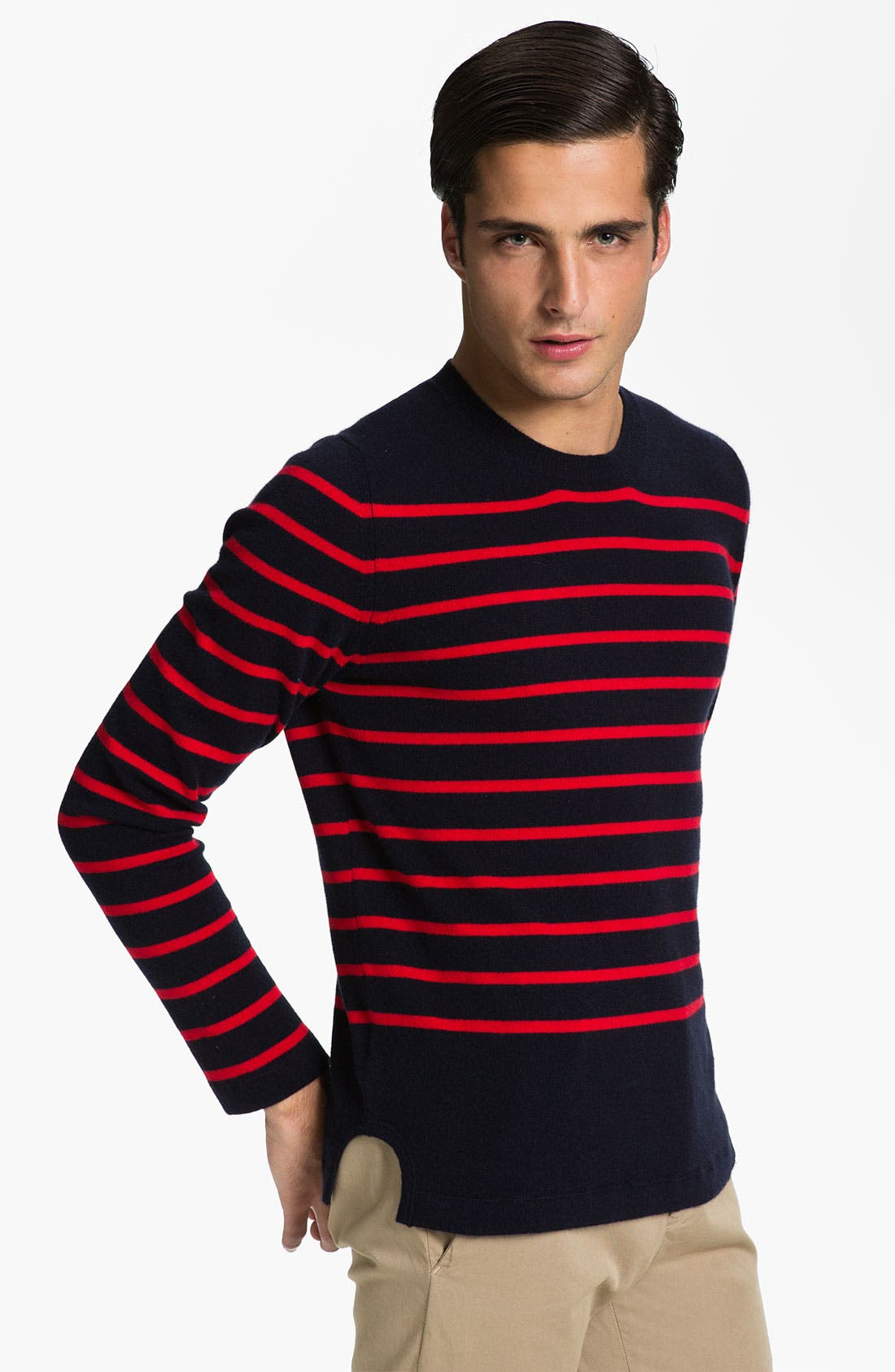 Alternate Image 1 Selected - Marni Stripe Cashmere Sweater
