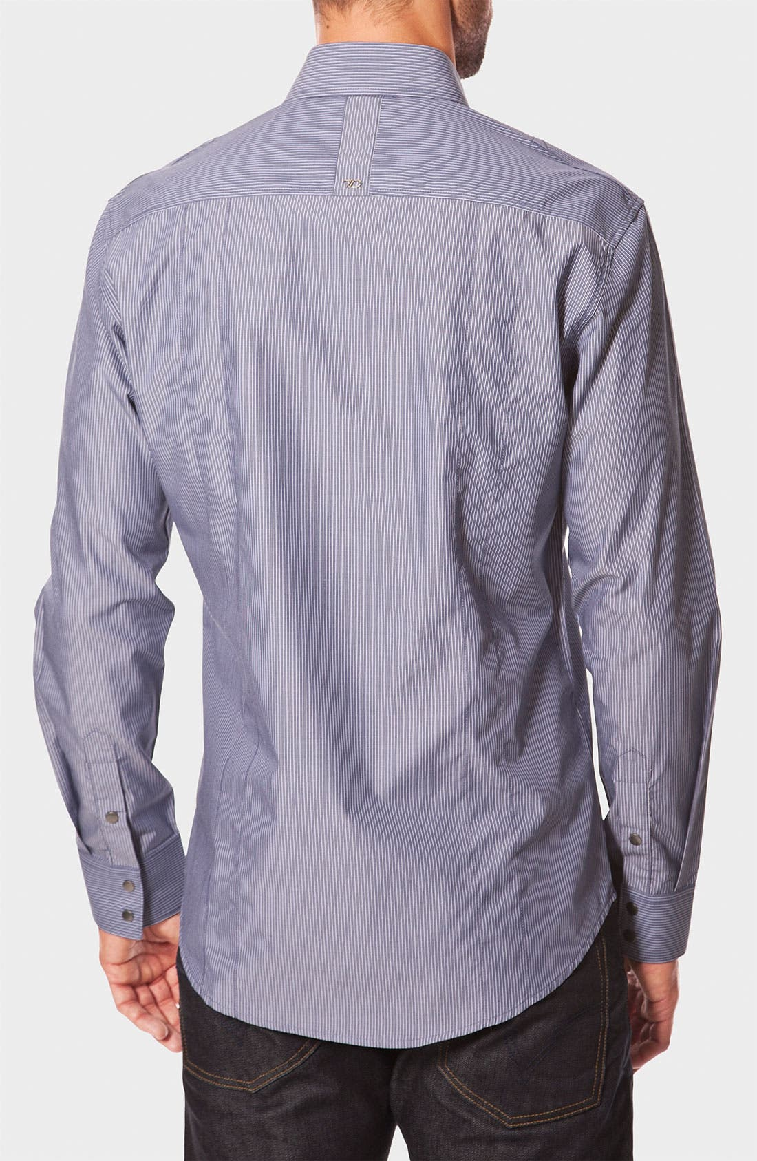 Alternate Image 2  - 7 Diamonds 'Work Station' Pinstripe Work Shirt