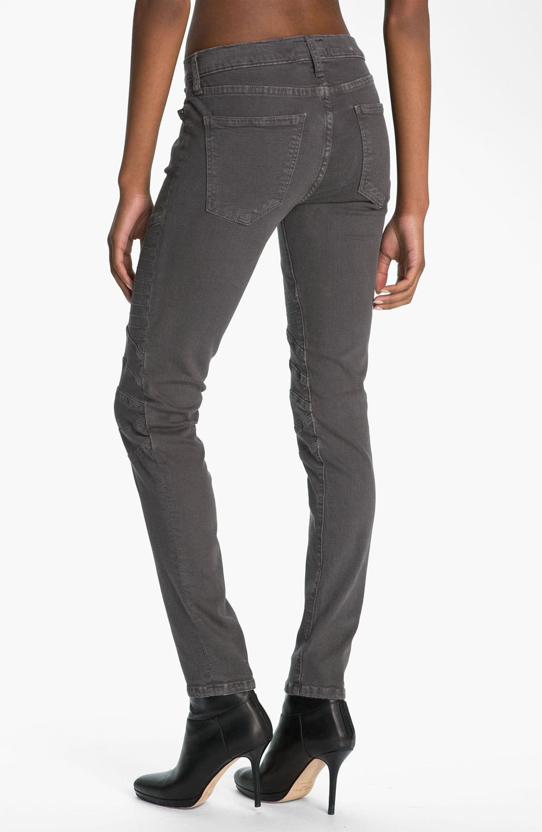 Alternate Image 2  - Current/Elliott 'The Moto' Skinny Ankle Jeans