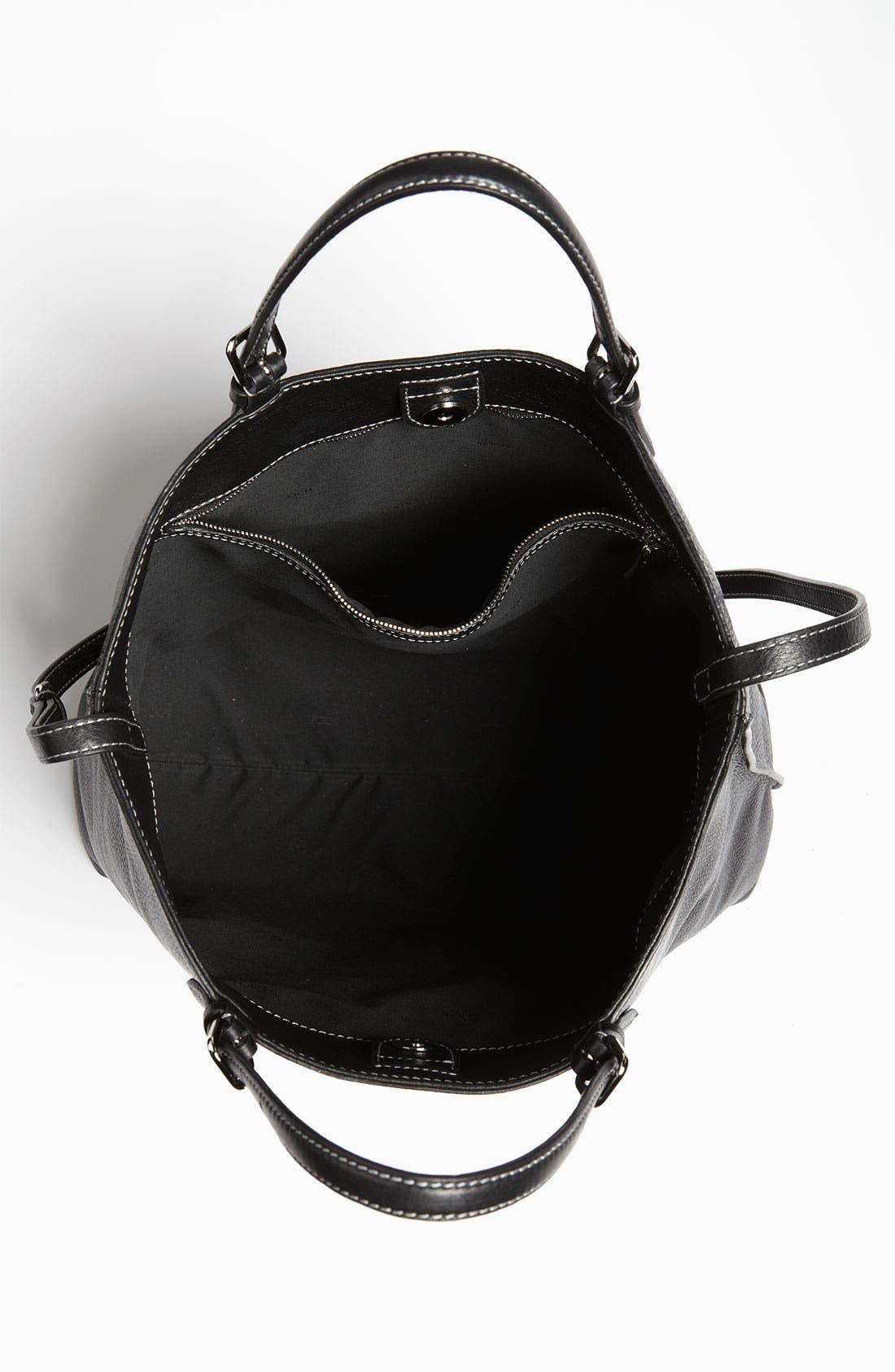 Alternate Image 3  - Tod's 'Logo - Media' Leather Shopper