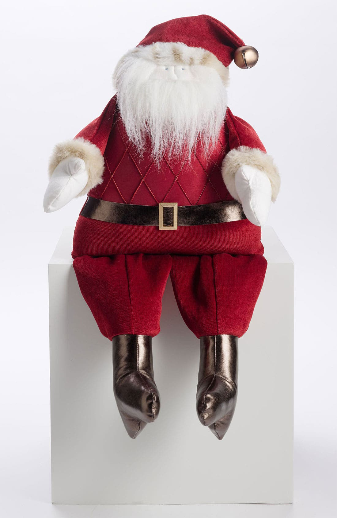Alternate Image 1 Selected - Woof & Poof 'Extra Large' Musical Jolly Santa Decoration