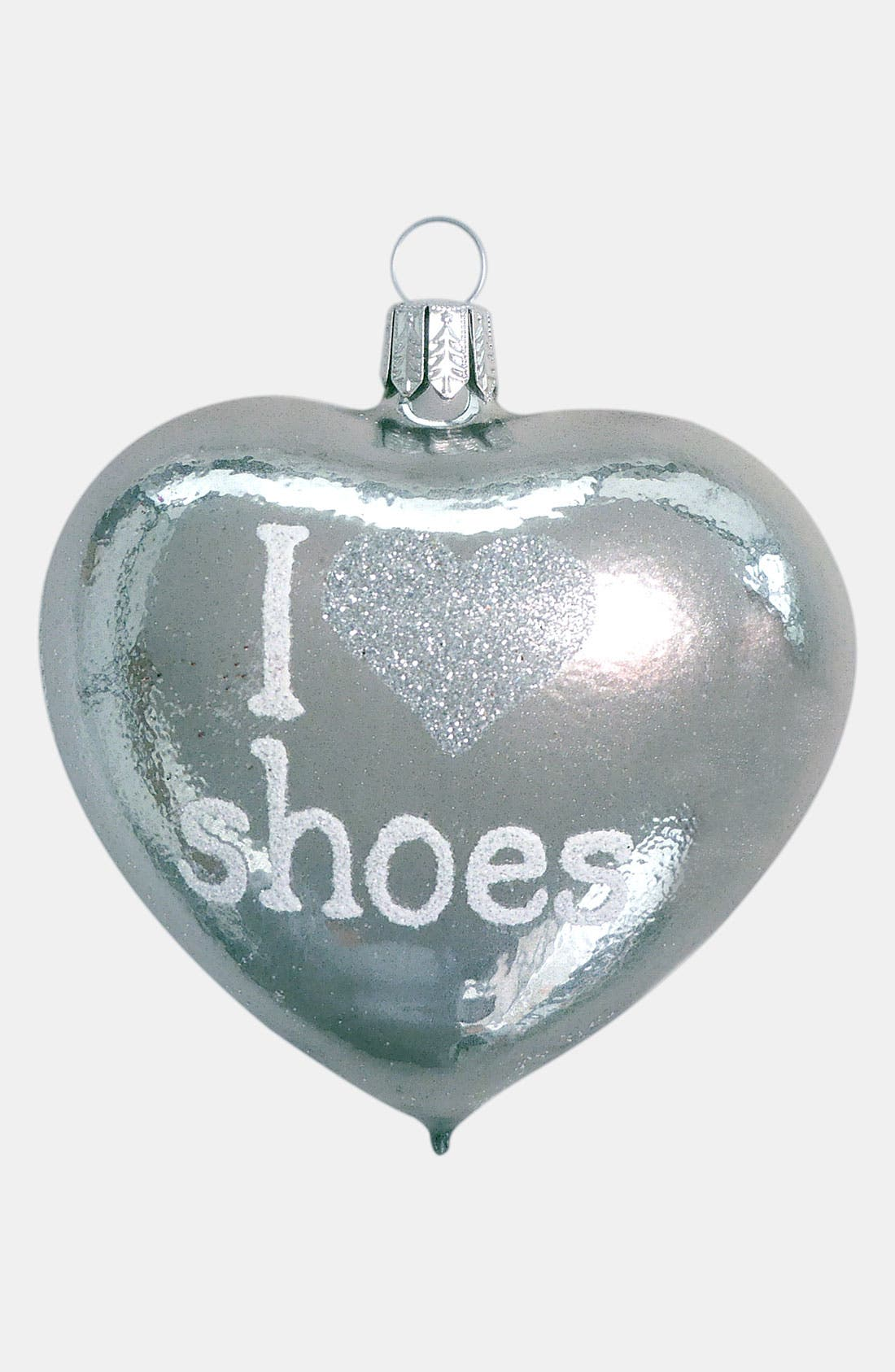 Alternate Image 1 Selected - Nordstrom at Home 'I Love Shoes' Ornament