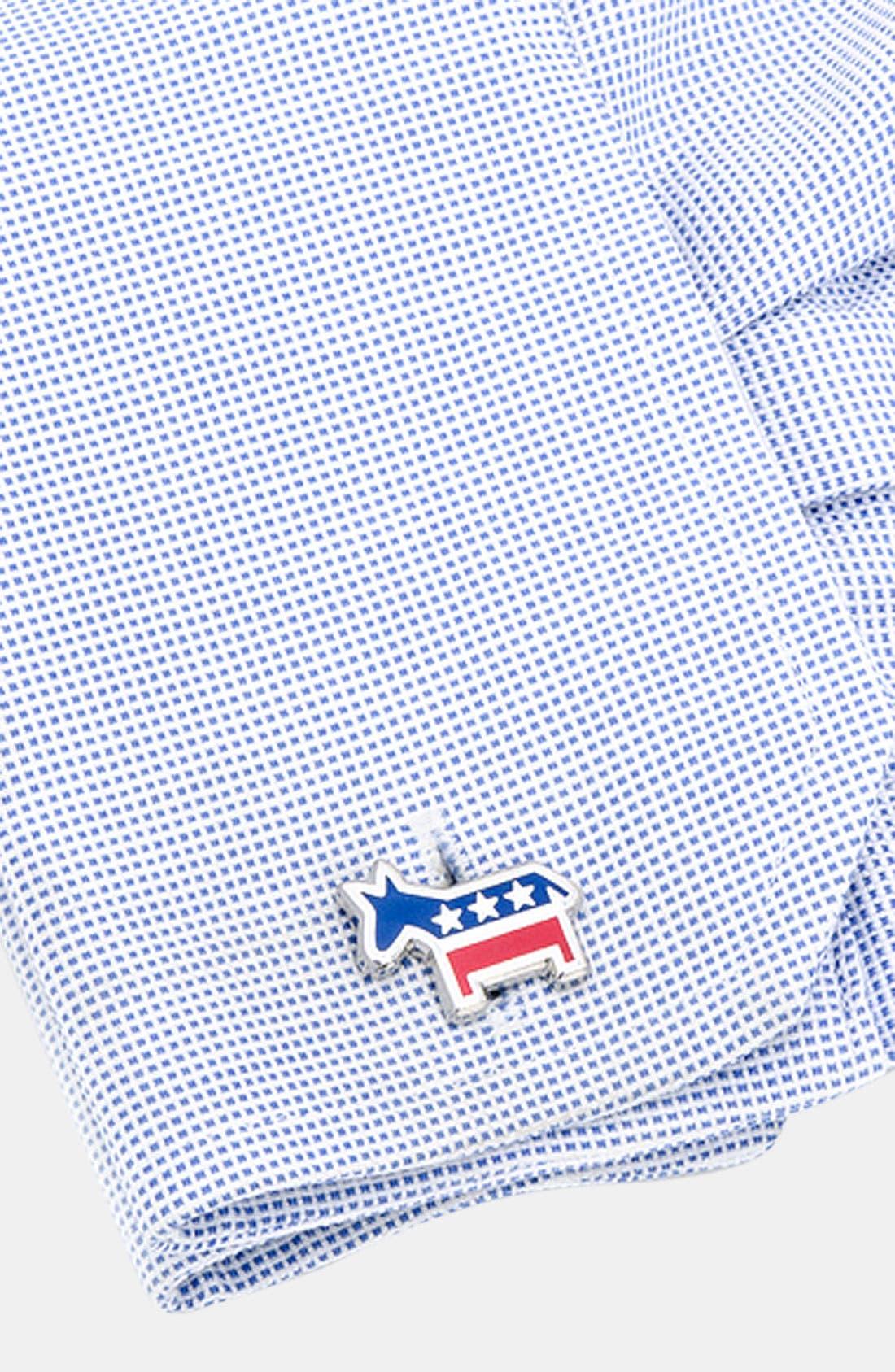 Alternate Image 2  - Cufflinks, Inc. 'Democratic Donkey' Cuff Links