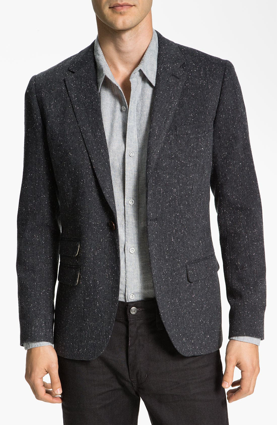 Alternate Image 1 Selected - Original Penguin One Button Donegal Blazer