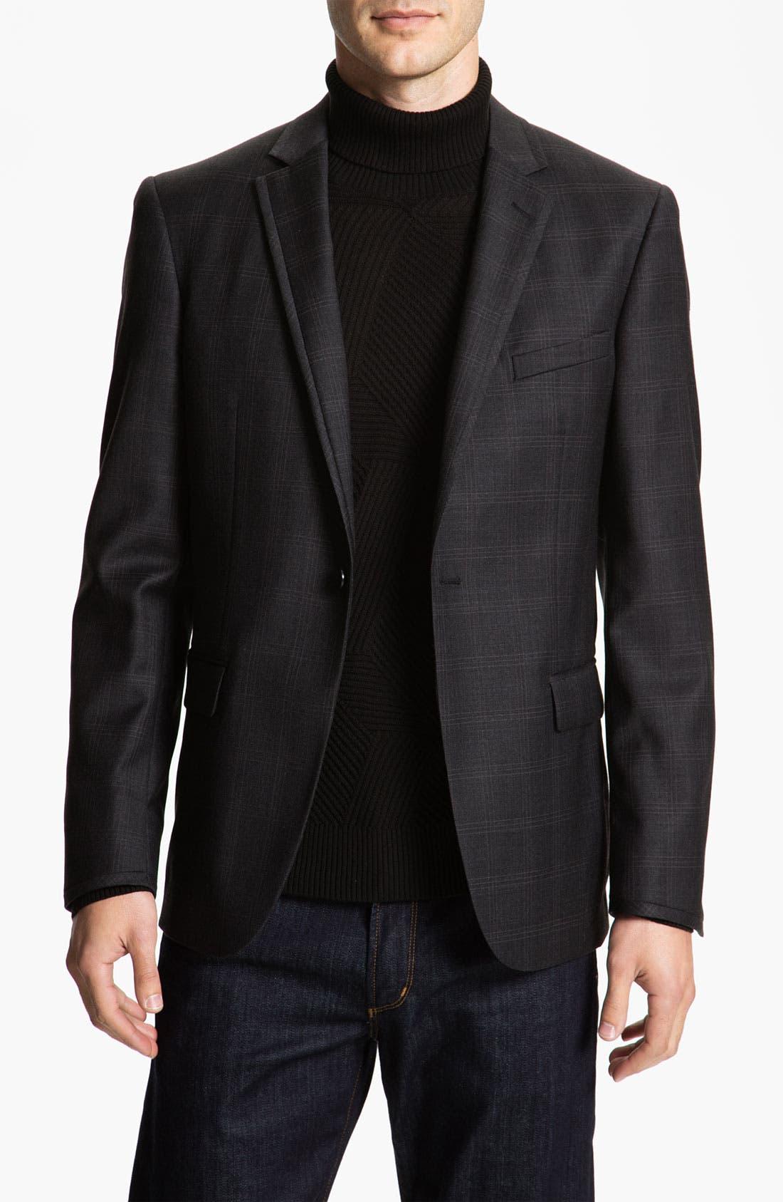 Alternate Image 1 Selected - Calibrate Plaid Wool Sportcoat