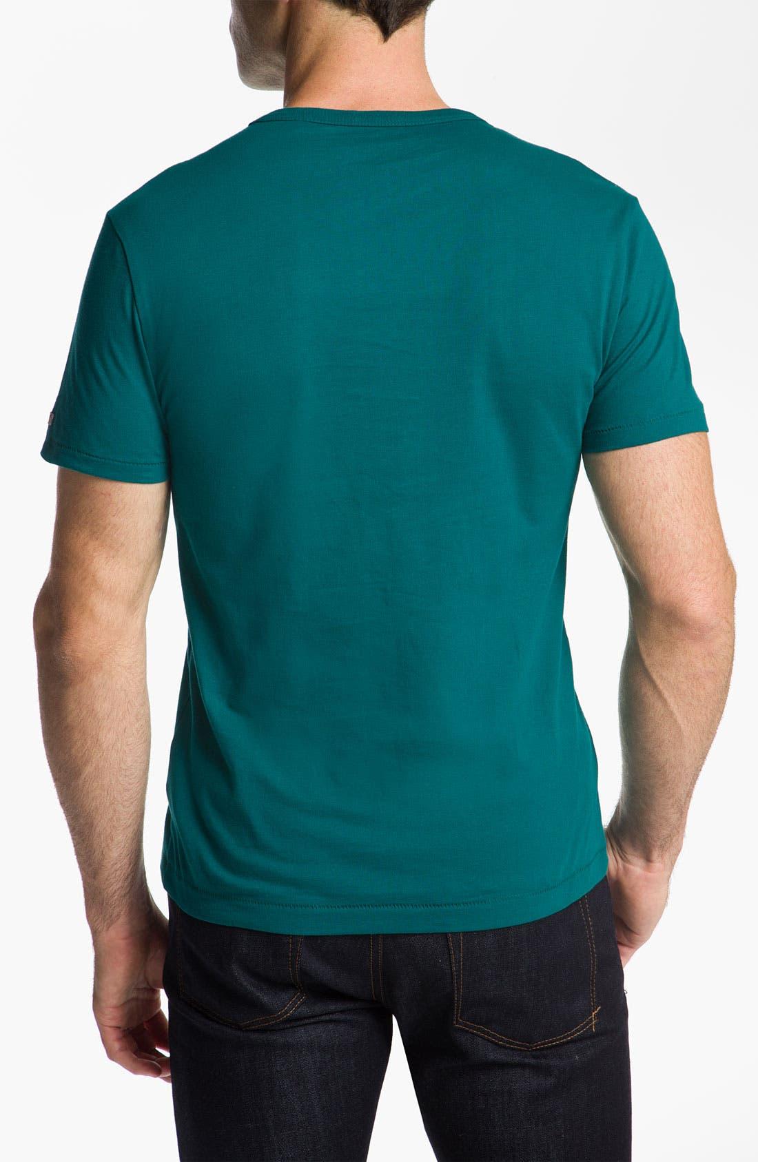 Alternate Image 2  - Original Penguin Graphic Trim Fit T-Shirt