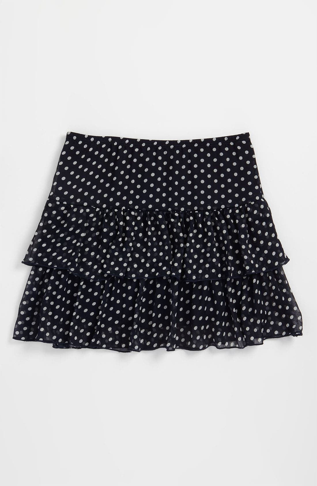 Alternate Image 1 Selected - Zunie Chiffon Skirt (Big Girls)