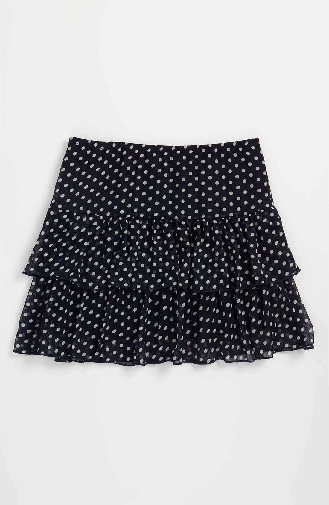 Main Image - Zunie Chiffon Skirt (Big Girls)