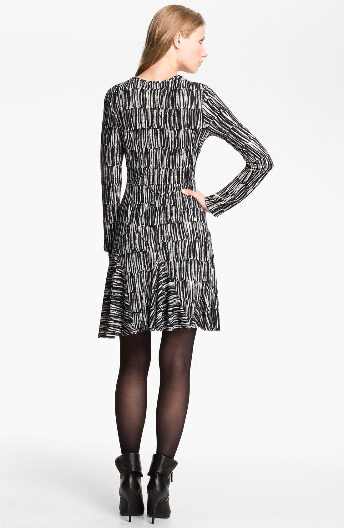 Alternate Image 2  - Cut25 Print Jersey Dress