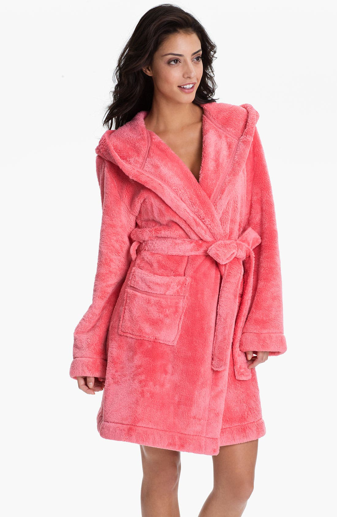 Main Image - Make + Model 'Teddy Plush' Robe