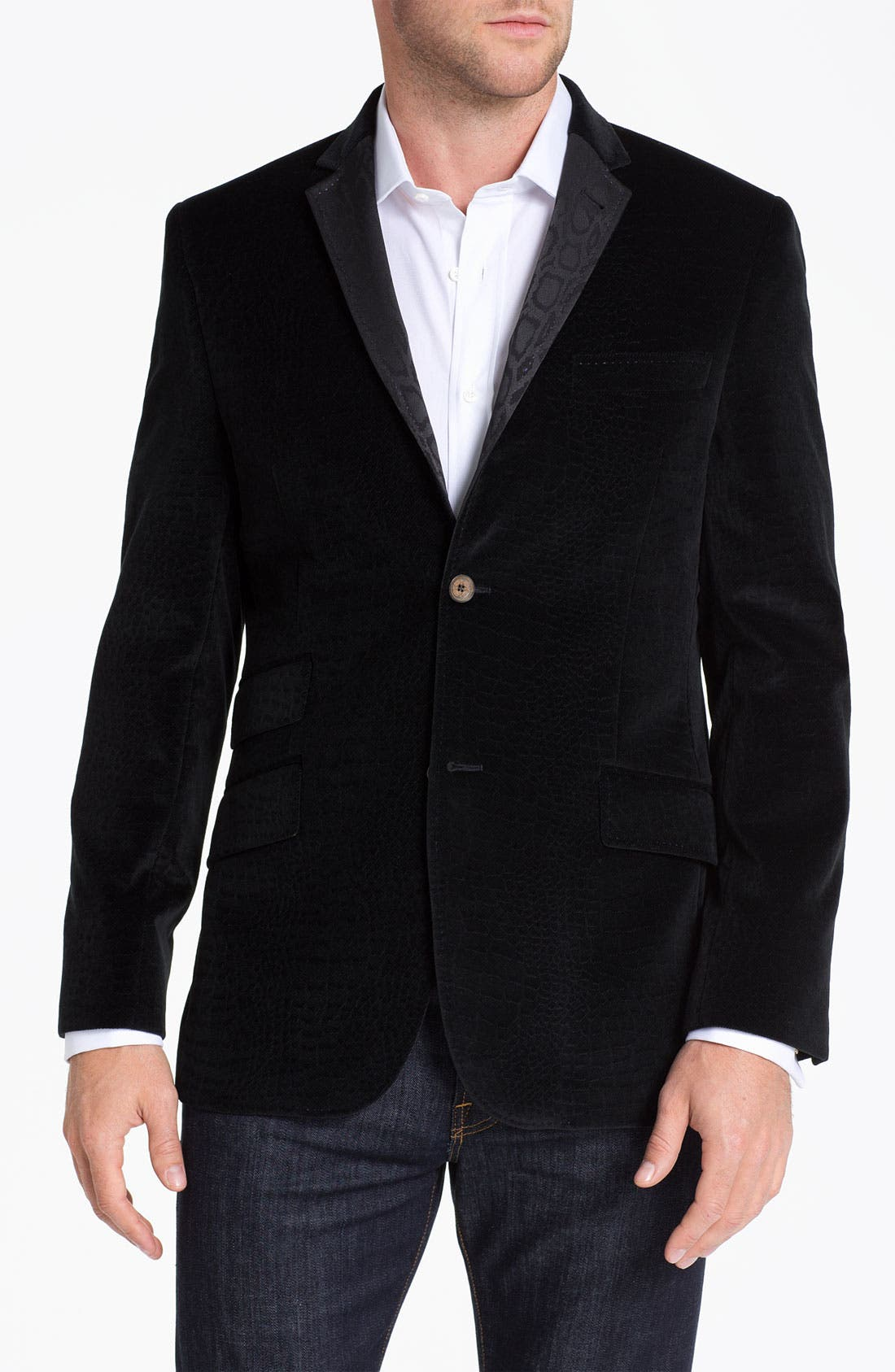 Main Image - Ted Baker London 'Global' Trim Fit Textured Sportcoat