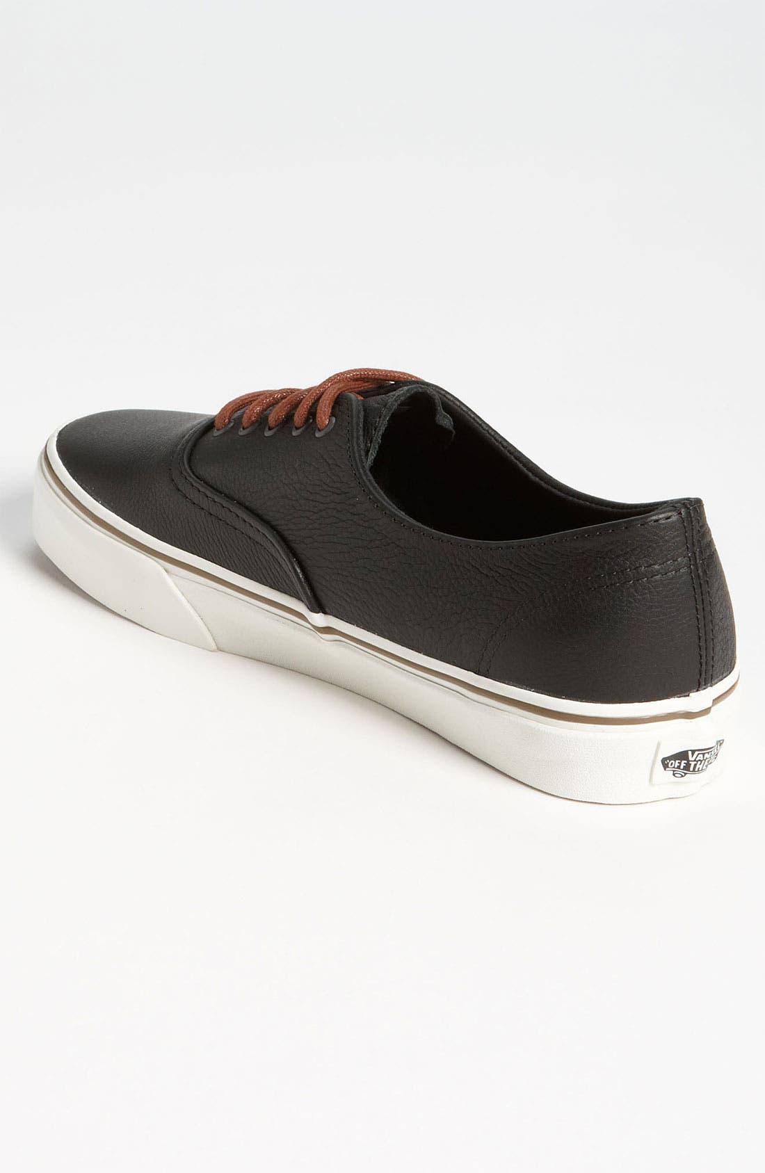 Alternate Image 2  - Vans 'Cali - Authentic Decon' Leather Sneaker (Men)