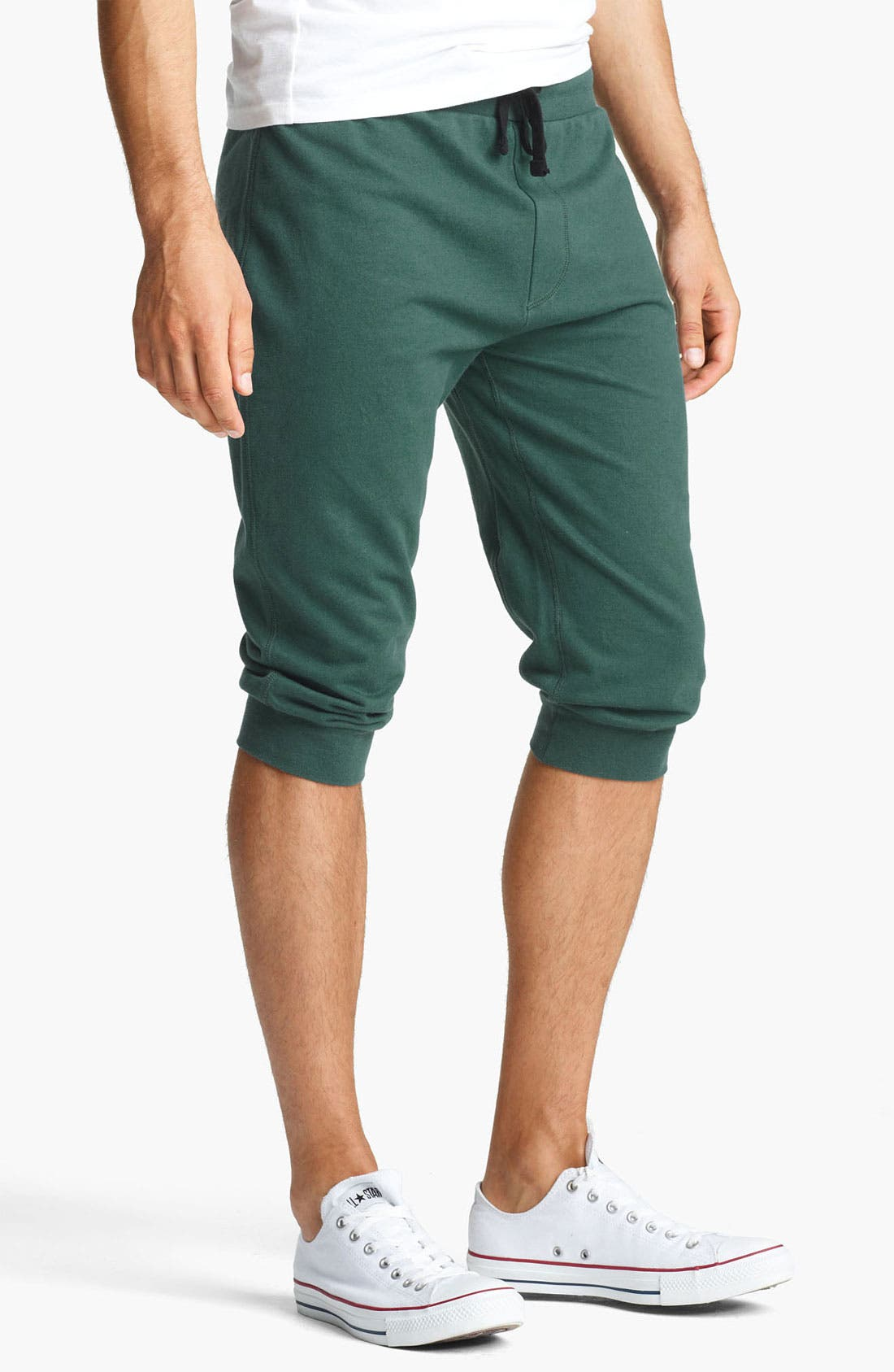 Main Image - Topman Jersey Track Shorts
