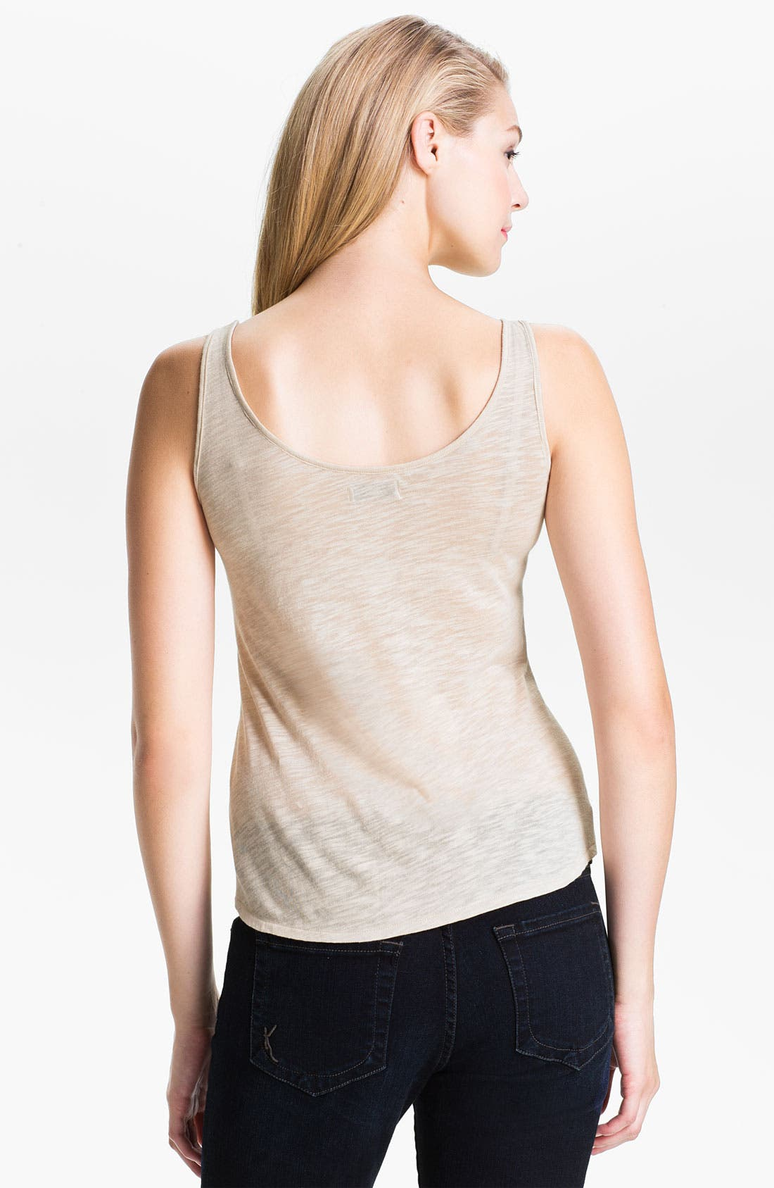 Alternate Image 2  - Lucky Brand Gilded Lace Tank