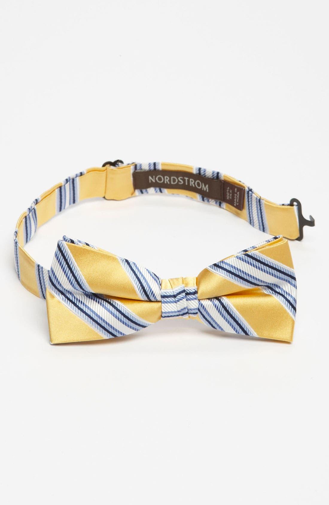 Main Image - Nordstrom Silk Bow Tie (Little Boys)