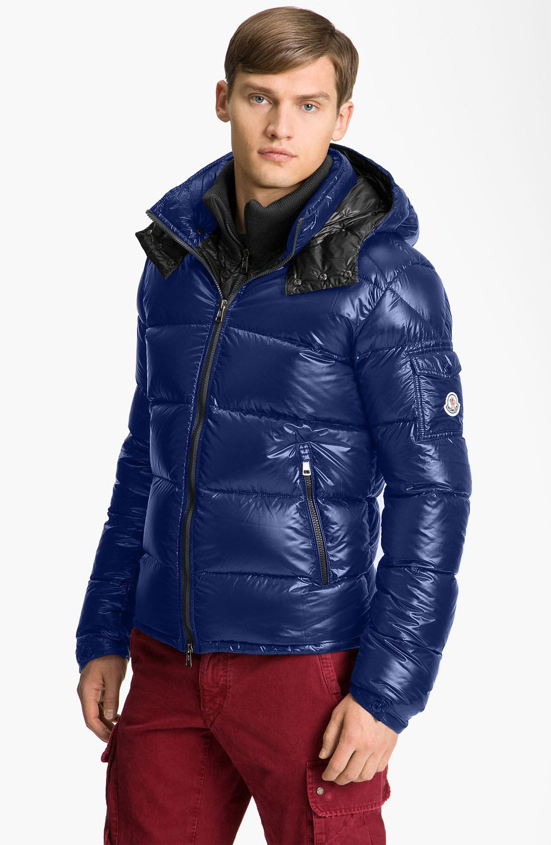 Main Image - Moncler 'Zin' Quilted Bomber