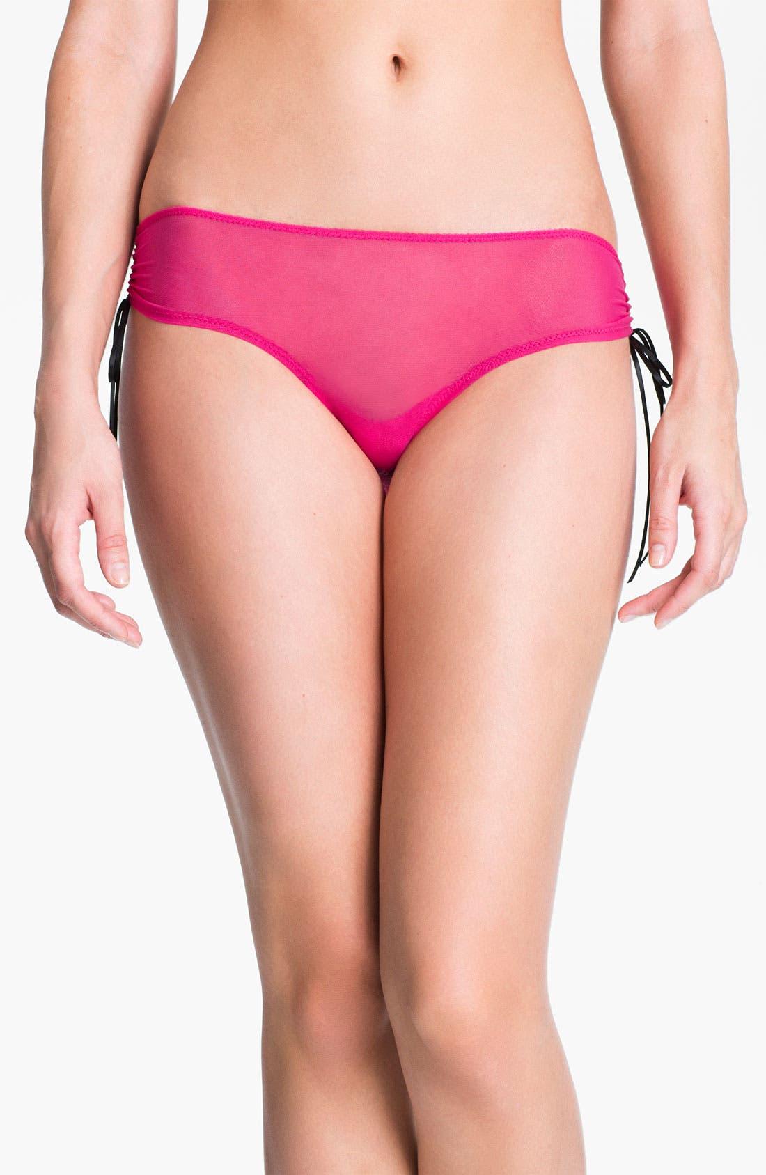 Main Image - Betsey Johnson 'It's a Cinch' Girl Leg Briefs