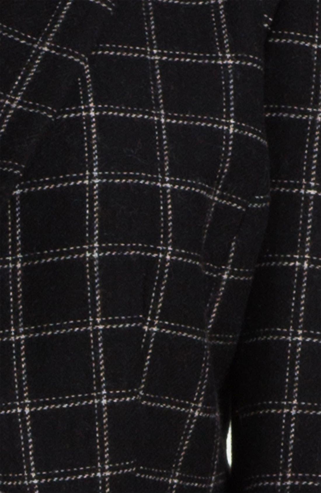 Alternate Image 3  - Max & Mia Plaid Peplum Jacket