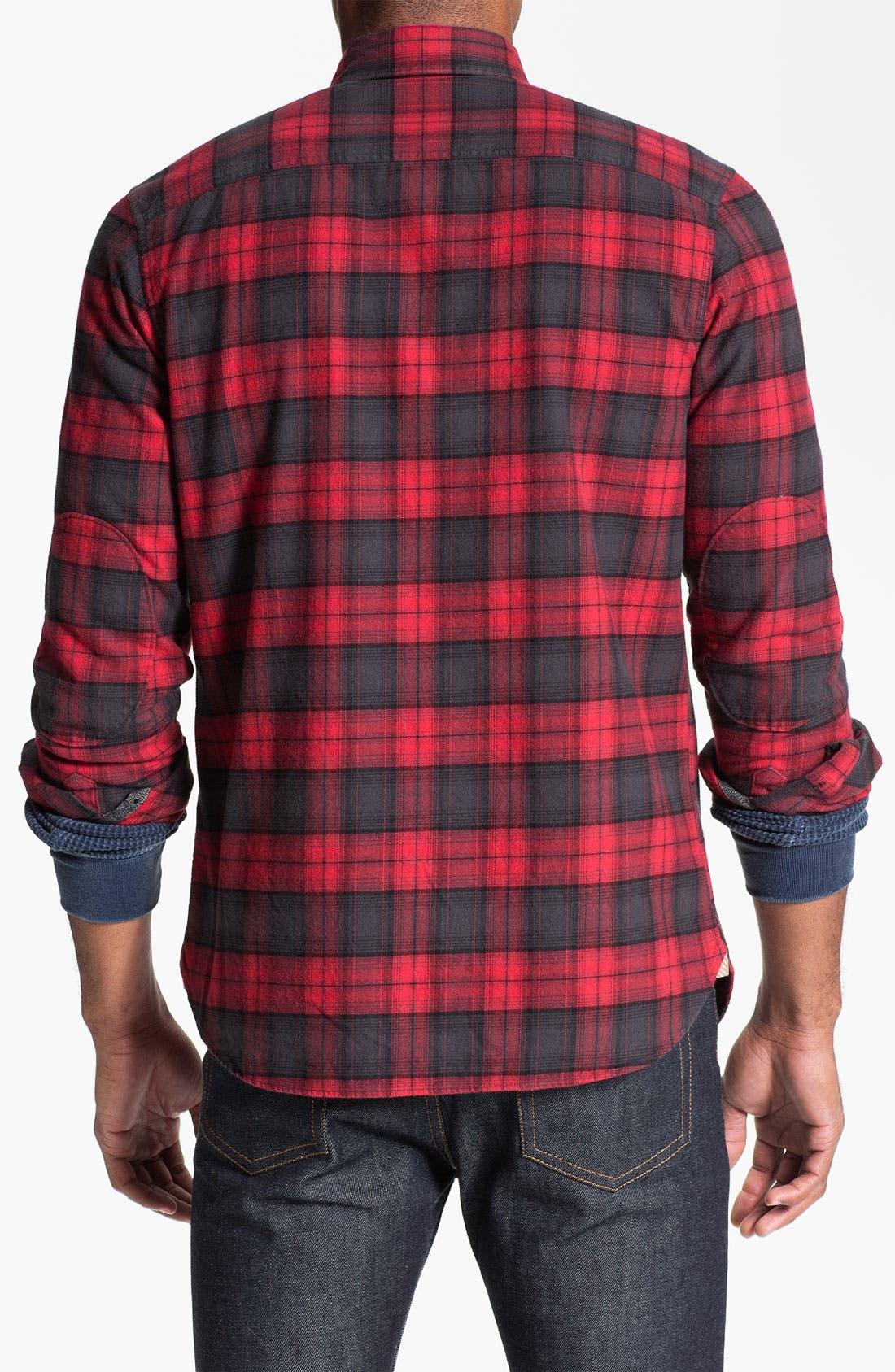 Alternate Image 2  - Wallin & Bros. Plaid Flannel Shirt